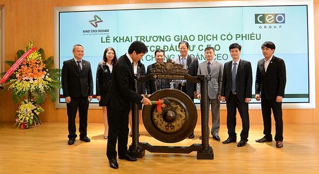 Cổ phiếu CEO chính thức chào sàn HNX