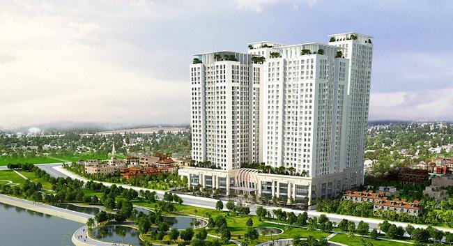 Trung Hòa - Nhân Chính: Nóng với Chung cư Home City (Trung Kính Complex)