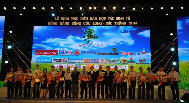 Ngân hàng MHB tham gia diễn đàn hợp tác kinh tế đồng bằng Sông Cửu Long năm 2014
