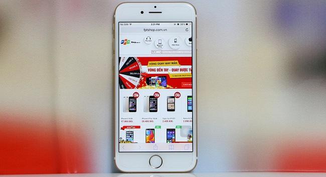 Tặng vé khứ hồi Vietnam Airlines cho khách mua iPhone 6 tại F.Studio và FPT Shop