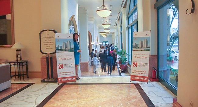 Chung cư Home City chính thức ra mắt khách hàng