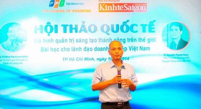 Đối thoại với CEO Nguyễn Thành Nam về những thách thức trên đường toàn cầu hóa