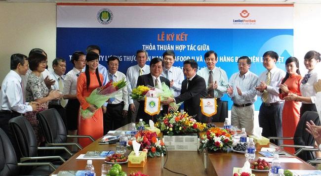 LienVietPostBank và Tổng công ty lương thực miền Nam ký kết thỏa thuận hợp tác
