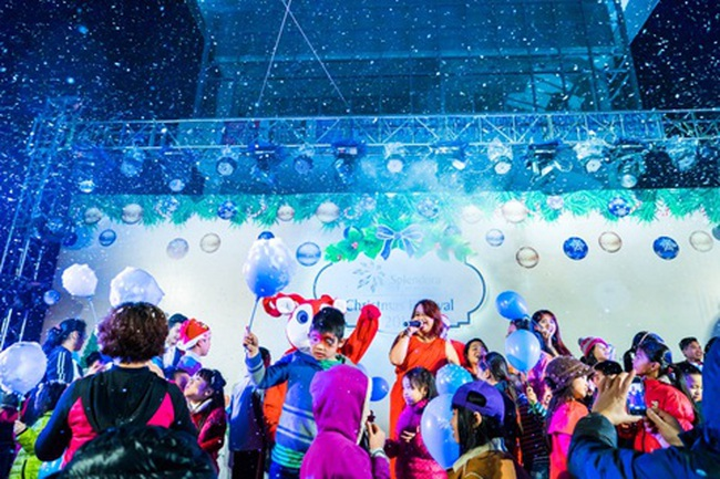 Splendora – rộn rã không khí Giáng sinh tại nơi mong đến chốn ước về