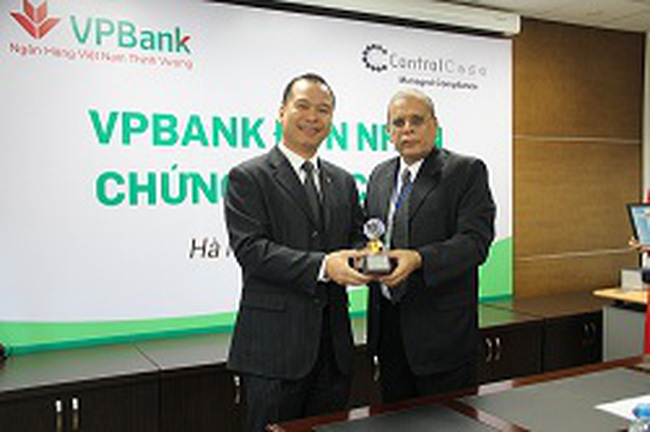 VPBank là ngân hàng đầu tiên tại Việt Nam đạt chứng nhận bảo mật PCI DSS