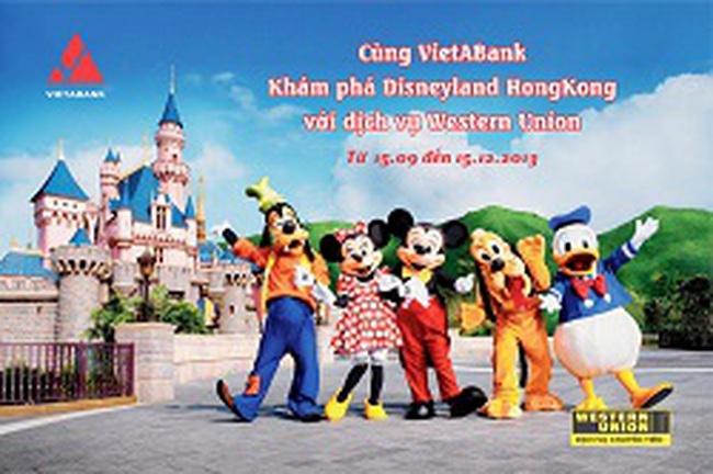 Cùng VietABank khám phá Disneyland Hong Kong