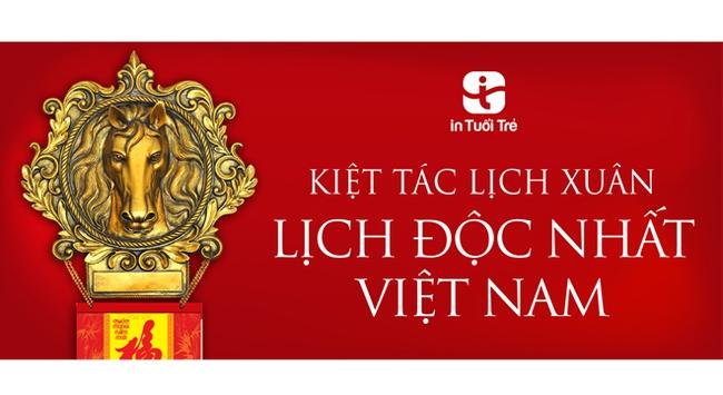 Ngựa chiến – Kiệt tác lịch của năm – Bộ lịch độc nhất Việt Nam