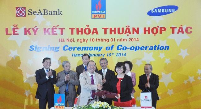 SeABank và PVI Holdings ký thỏa thuận hợp tác toàn diện