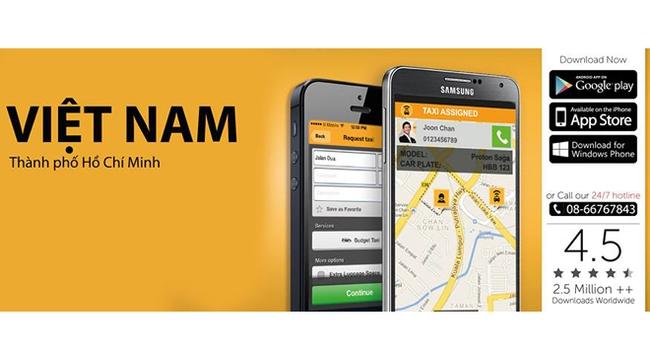 Ứng dụng Easy Taxi, bắt taxi chỉ với một thao tác chạm!