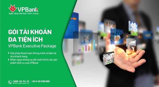 """VPBank ra mắt """"Gói tài khoản đa tiện ích - VPBank Executive Package"""""""
