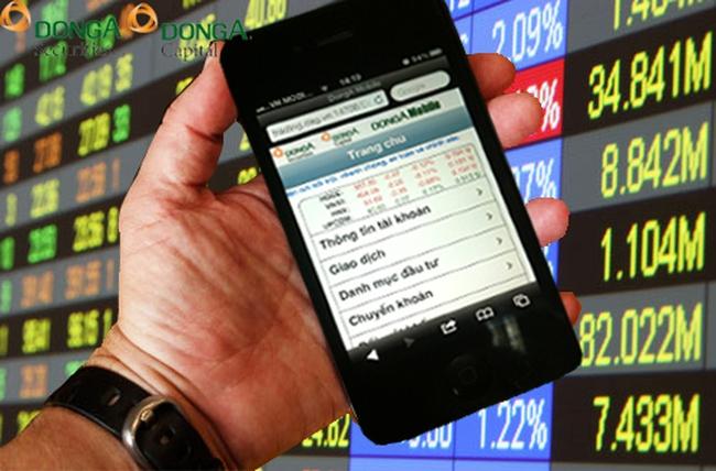 Chứng khoán Ngân hàng Đông Á triển khai dịch vụ DongA Mobile vào ngày 5/11/2012