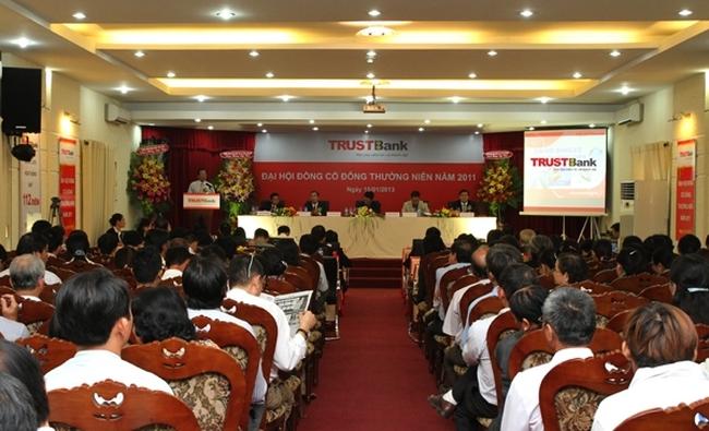 TrustBank tái cấu trúc theo nghị quyết ĐHCĐ