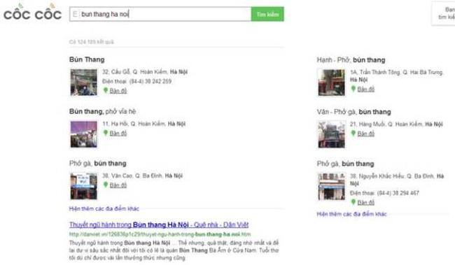 """Chàng tí hon """"Cốc Cốc"""" liệu có thắng gã khổng lồ Google?"""