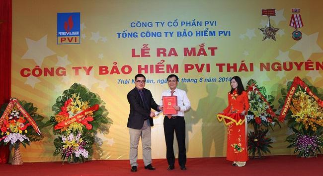 Cạnh tranh bán lẻ, Bảo hiểm PVI khai Trương chi nhánh Thái Nguyên