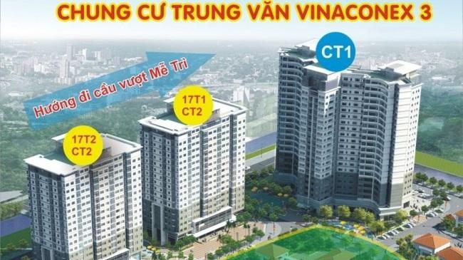 """Căn hộ CT1 Trung Văn """"hút"""" khách"""