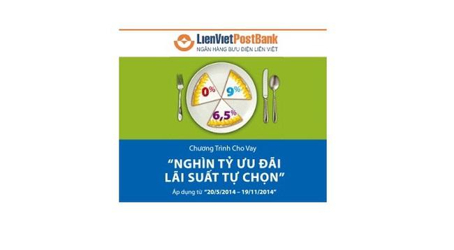 LienVietPostbank dành nghìn tỷ ưu đãi cho khách hàng