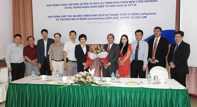 NCB ký kết hợp đồng triển khai Corebanking với FPT, dịch vụ thanh toán di động
