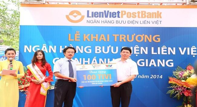 Lienvietpostbank khai trương chi nhánh mới tại Hà Giang