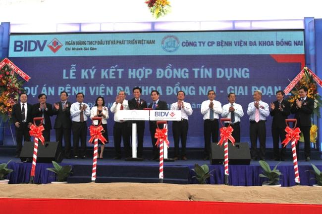 BIDV ký kết hợp đồng tín dụng tài trợ xây dựng Bệnh viện Đa khoa Đồng Nai