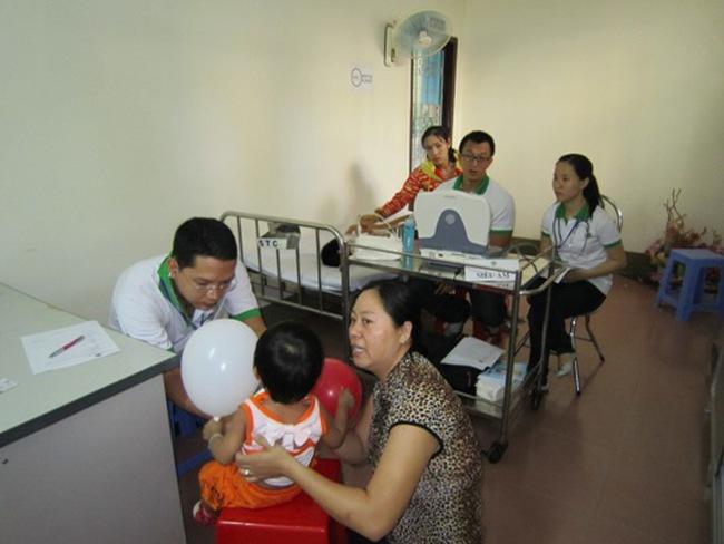 Lavico và MVK tài trợ Chương trình Khám sàng lọc bệnh tim mạch cho trẻ em Bình Định