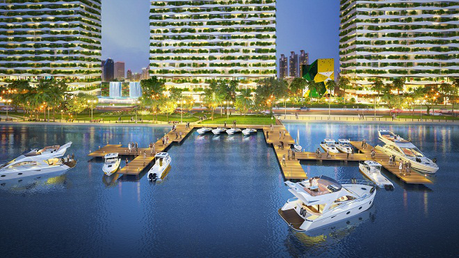 Diamond Lotus Riverside: Từ địa điểm đến công trường xanh