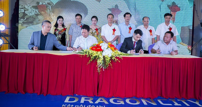 Hơn 800 khách hàng tham dự lễ ra mắt Khu đô thị Kỳ Đồng Thái Bình Dragon City