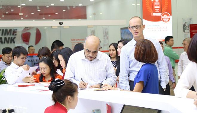 Maritime Bank trích doanh thu từ tiền gửi hỗ trợ đồng bào miền Trung