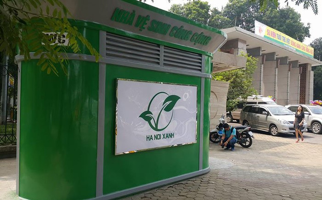 Hà Nội sẽ lắp 1.000 nhà vệ sinh công cộng theo mẫu mới