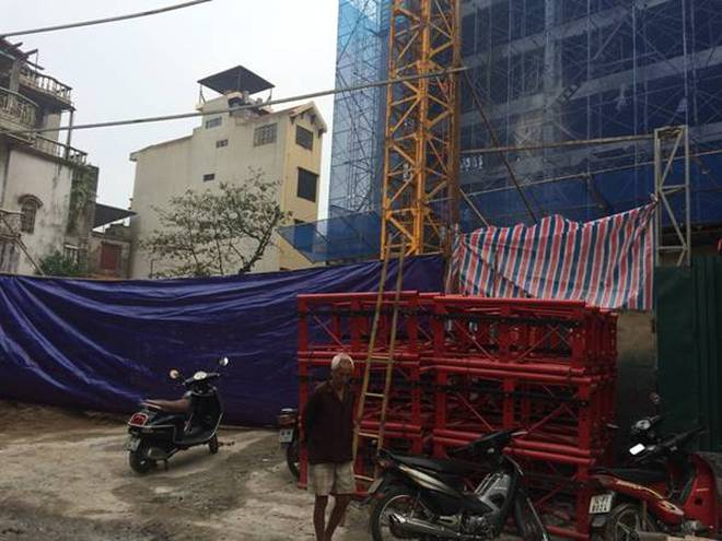 Hà Nội: Đình chỉ thi công dự án làm 2 người chết tại quận Hoàng Mai