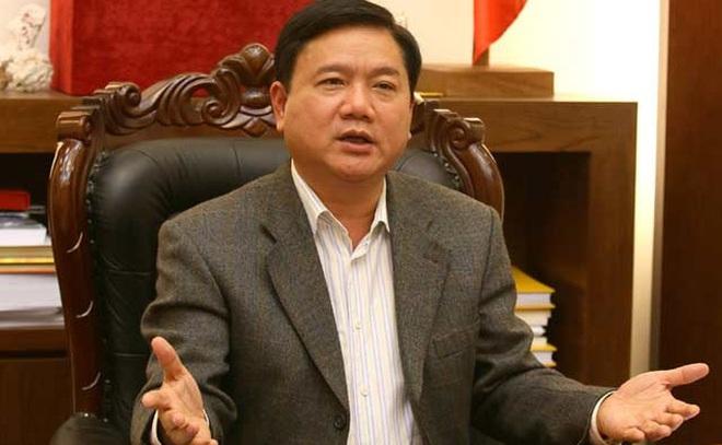 Ông Đinh La Thăng được thôi chức Bộ trưởng Bộ Giao thông Vận tải