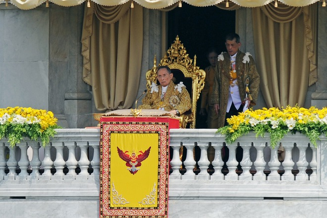 Quốc vương Thái Lan băng hà ở tuổi 88