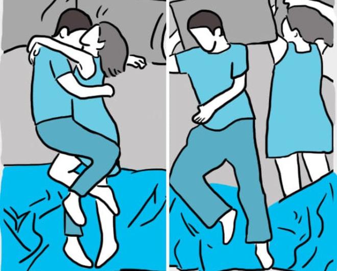 Tư thế ngủ tiết lộ bí mật gì về cuộc sống hôn nhân của các cặp vợ chồng?