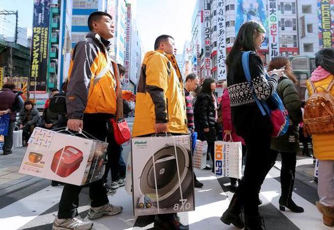 """Trung Quốc """"khát"""" hàng Nhật"""
