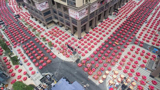 Công ty BĐS mở đại tiệc 1.500 bàn đãi cư dân nhận nhà mới