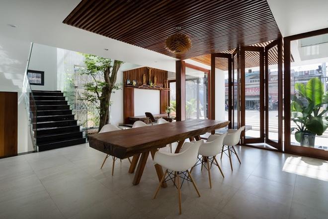Đẹp hút hồn với căn nhà tràn ngập cây xanh ở Đồng Nai