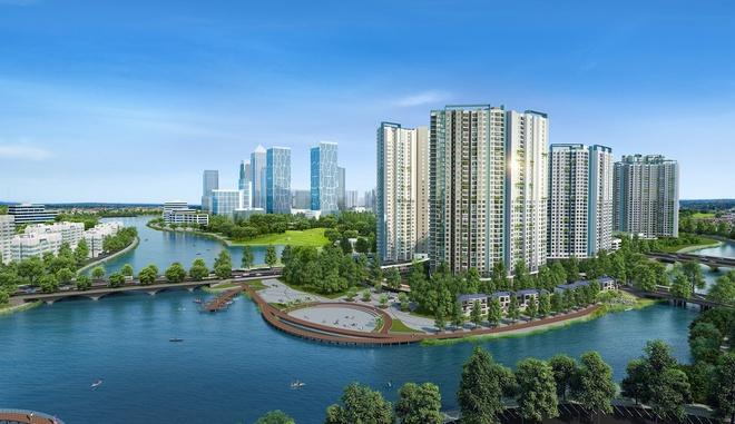 Thị trường BĐS Hà Nội có thêm 3.000 căn hộ cao cấp tại Ecopark
