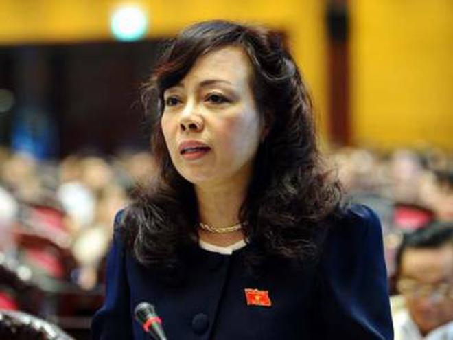 Bà Nguyễn Thị Kim Tiến đứng thứ 7 trong kết quả kiểm phiếu các Bộ trưởng