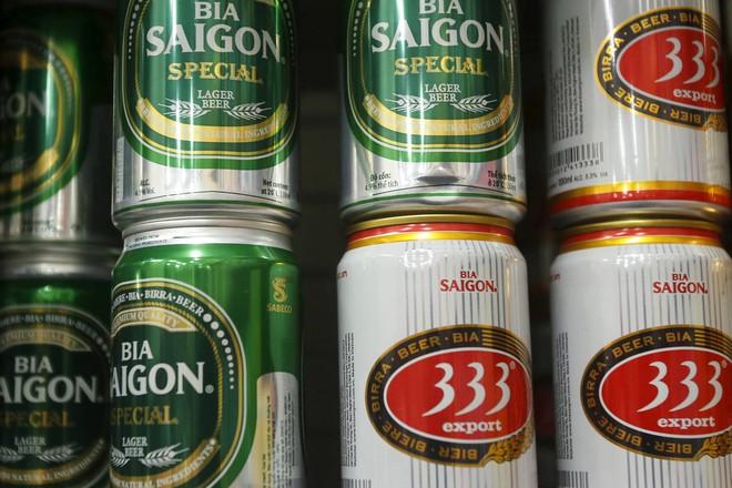"""Các hãng bia ngoại """"xếp hàng"""" chờ mua Habeco và Sabeco"""