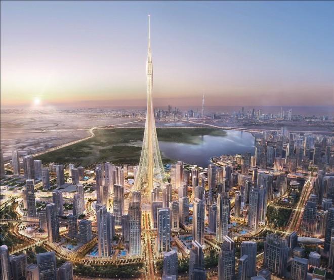 Dubai xây tháp cao nhất thế giới
