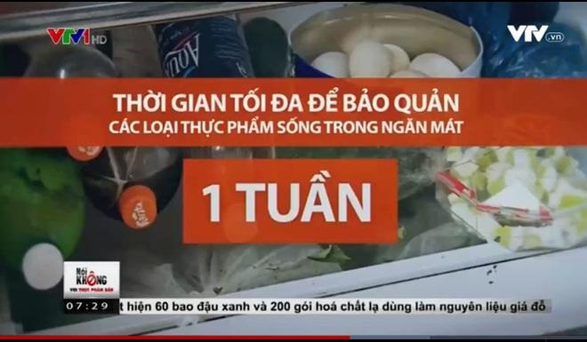 Nên bảo quản thực phẩm trong ngăn mát tủ lạnh trong bao lâu?