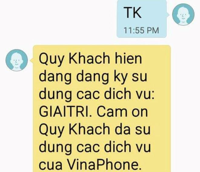 Gian nan huỷ dịch vụ trừ tiền của VinaPhone