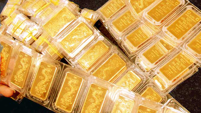 Giá vàng nhích nhẹ