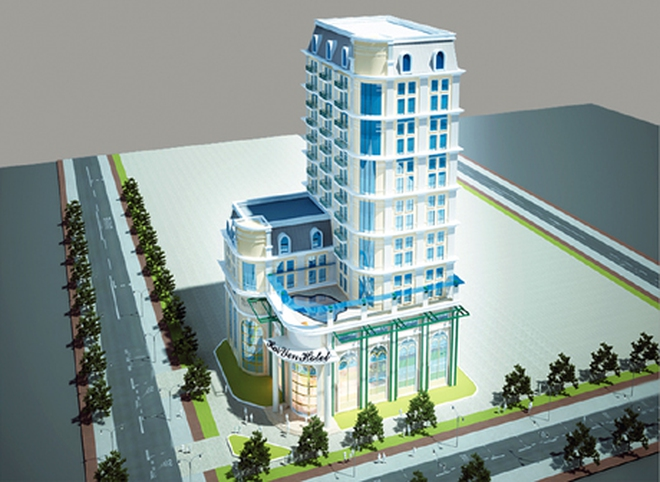 Hà Nội có thêm một tổ hợp thương mại, khách sạn tại Cầu Giấy