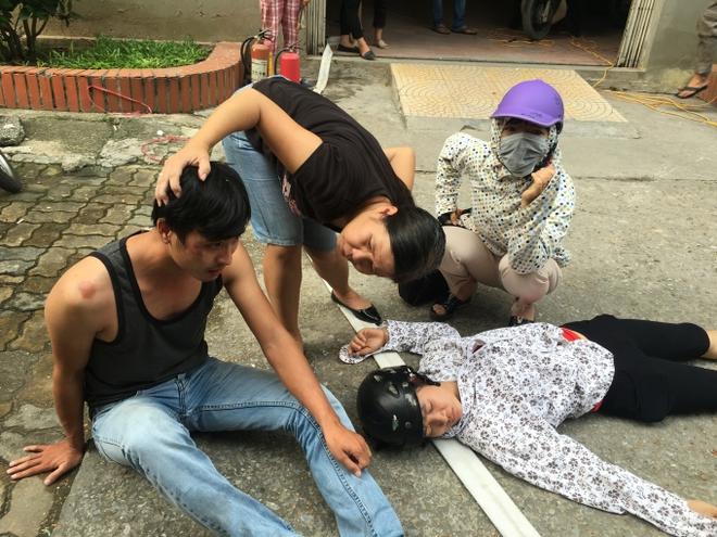 Tranh chấp kiểu côn đồ tại một chung cư ở Hà Nội