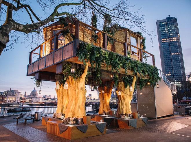 Xuất hiện ngôi nhà cây độc đáo giữa thành phố London