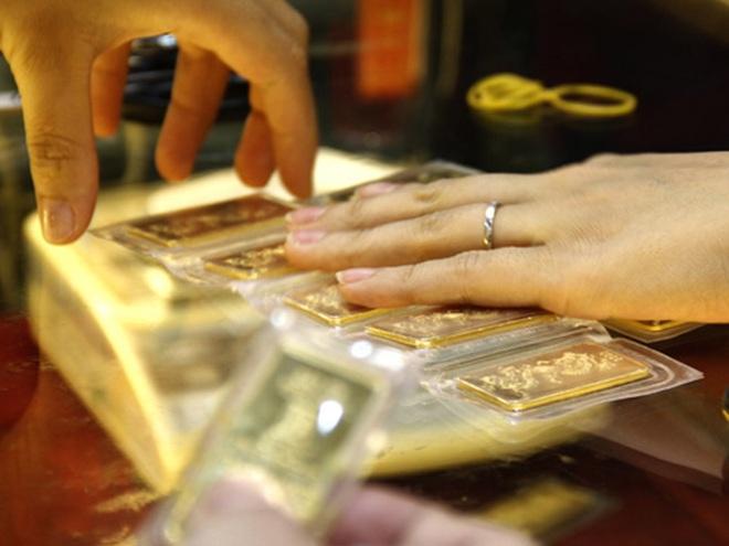 Vàng trong nước tăng nhẹ theo đà thế giới