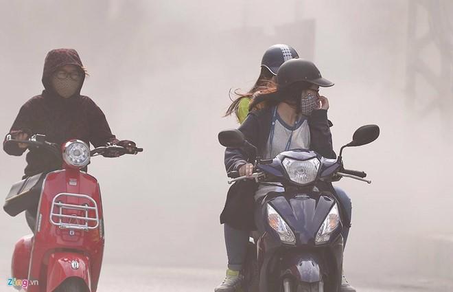 Hít khói bụi ở Hà Nội nguy hiểm ra sao?