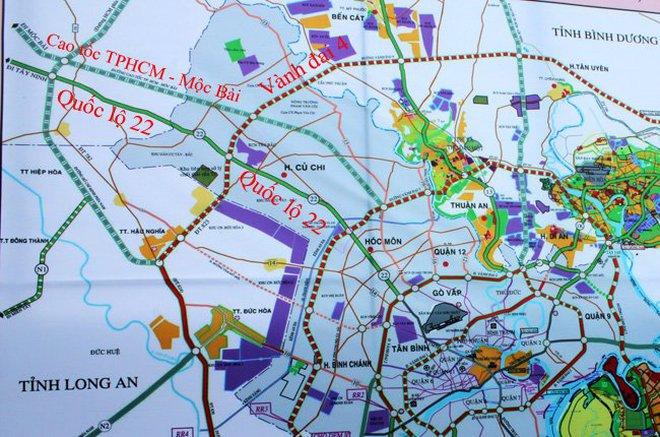 Xem xét đầu tư gần 10.000 tỷ đồng mở rộng đường từ TP.HCM đi cửa khẩu Mộc Bài