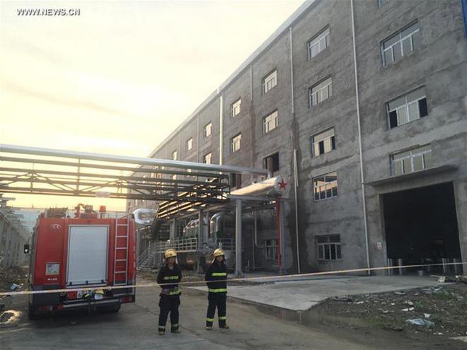 Nổ ở nhà máy điện Trung Quốc, 21 người chết
