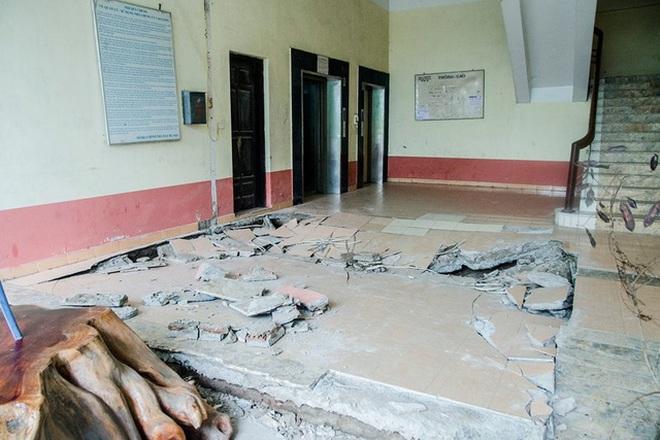 Nhà N5, Hoàng Mai, Hà Nội: Dân bất an vì 9 năm 2 lần sập sàn